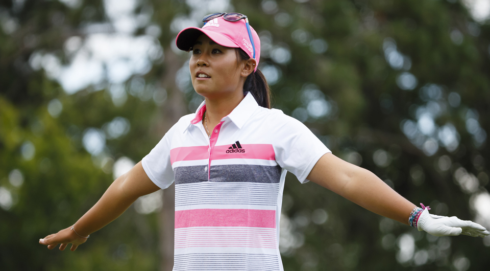 Danielle Kang made her second hole-in-one – and won her second car – in eight days, acing the par-3 17th hole during the second round of the LPGA Taiwan Championship.