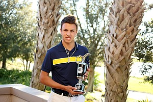 Marcos Montenegro won the boys division of the Golfweek International Junior Invitational at ChampionsGate.