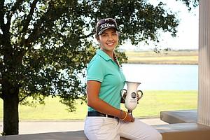 The girl's winner, Ana Paula Valdes at the Golfweek International Junior Invitational at ChampionsGate.