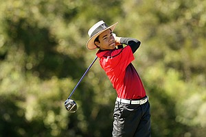 Andrew Walker during Round 2 of the Golfweek International Junior Invitational at ChampionsGate.