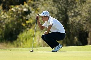 John Felitto during Round 2 of the Golfweek International Junior Invitational at ChampionsGate.