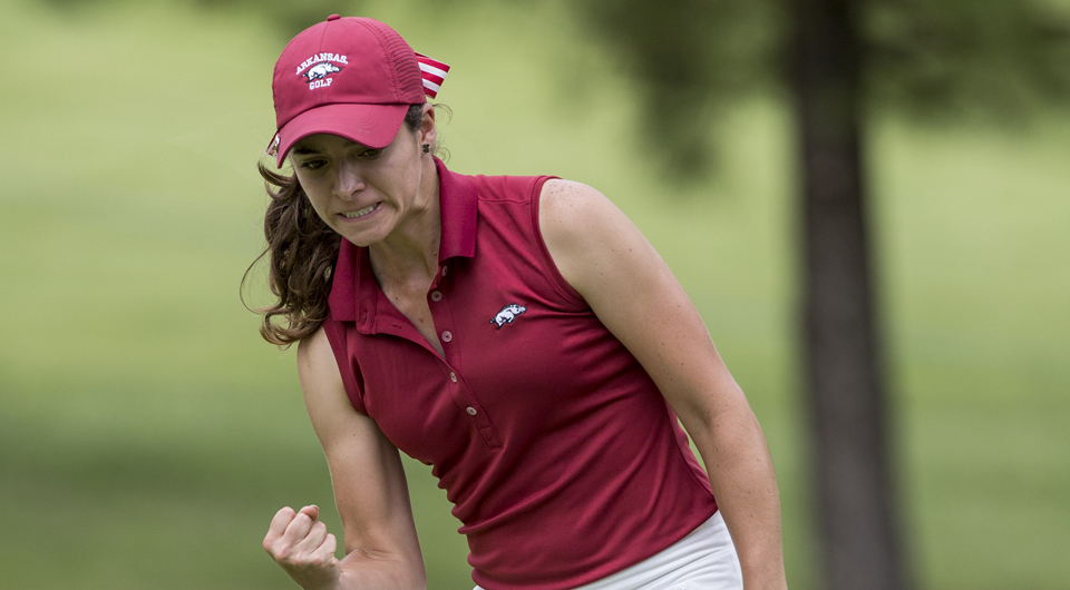 Arkansas junior Gaby Lopez earned a start at the LPGA's Lorena Ochoa Invitational and finished T-23 in Mexico City, her hometown.