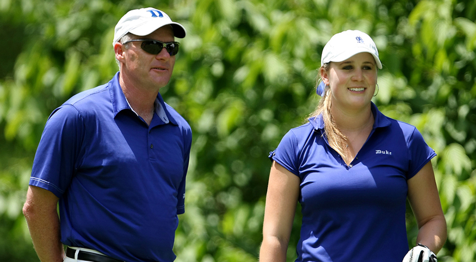 Former Duke standout Amanda Blumenherst will be inducted into the Women's Golf Coaches Association Players Hall of Fame, the WGCA announced Friday.