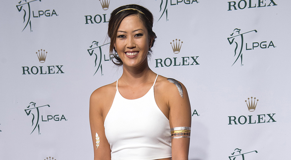 No one can cause a stir on the red carpet like Michelle Wie. And when she follows an evening of glamor with a smooth 67 to vault up the leaderboard at the CME Group Tour Championship, well, it's doubly fantastic for the LPGA.