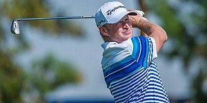 Jamie Donaldson rescues cat in Dubai