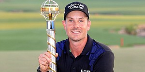 Stenson climbs to No. 2 after victory in Dubai