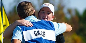 Grice leads LPGA Q-School after first round