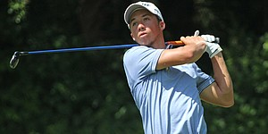 Junior golfer Kristian Caparros turns pro