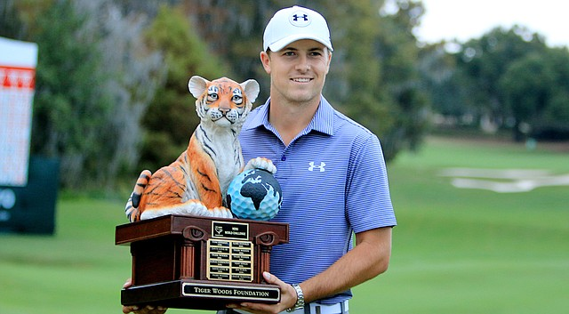 Jordan Spieth won his second event in as many weeks Sunday at the Hero World Challenge.