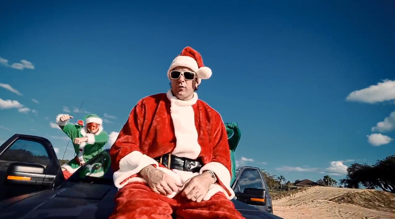 Bubba Watson released a music video of him rapping under the guise of