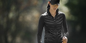 Nike Golf's layering piece - the Aeroloft Vest for women