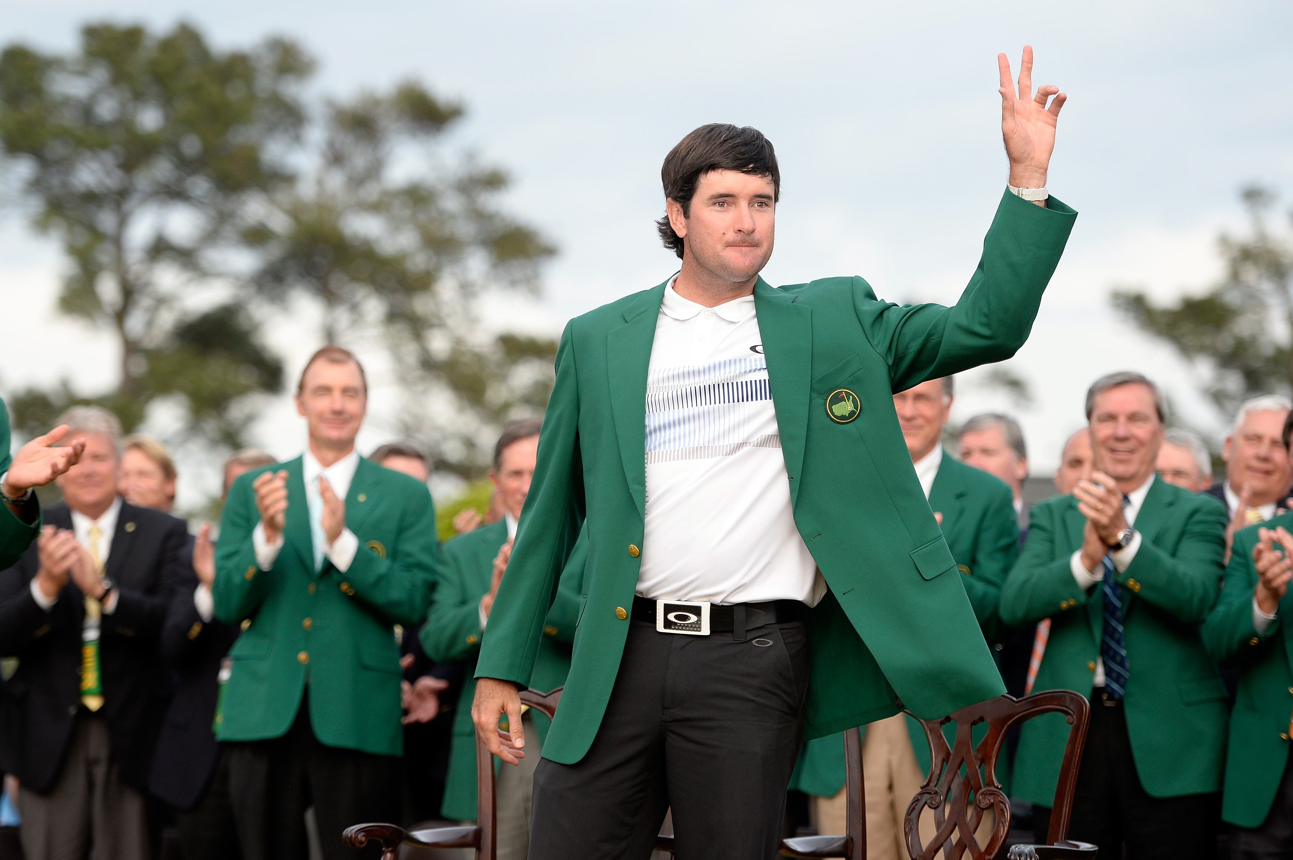 In this year�s Masters commercial for ESPN, defending champion Bubba Watson reads the invitation sent to players who are invited to the tournament.