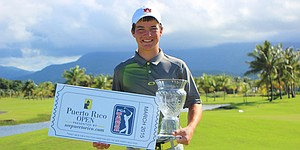 Kozan earns Tour start with Puerto Rico win