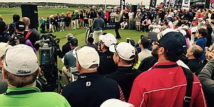 PHOTOS: Bubba Watson at 2015 Demo Day