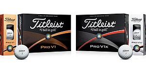 2015 Titleist Pro V1 and Pro V1x golf balls