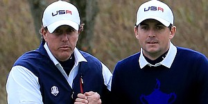 Mickelson, Bradley's bromance continues in Phoenix