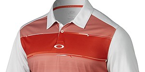 Oakley's Mason polo offers lightweight comfort for player