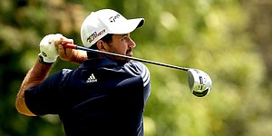 Diaz leads suspended Colombia Championship