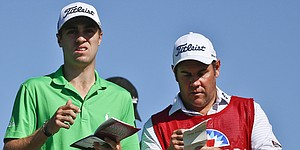 Spieth, Thomas trade jabs, soak in test of Riviera