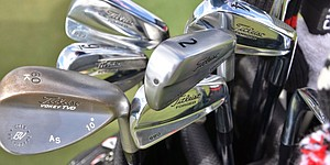 Equipment: On the range at WGC-Cadillac Championship