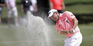 Lee Westwood in hunt at 50th WGC event