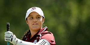 Navarro reps college game at LPGA Kia Classic