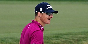 After grandmother's death, Hoffmann takes lead at Bay Hill