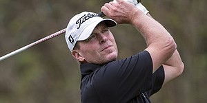 Stricker at Augusta with one eye on Wisconsin hoops