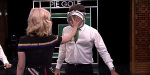 Bubba Watson's NYC media tour includes pie golf with Jimmy Fallon