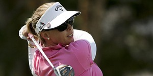 Pressel shows flashes of old form at ANA Inspiration