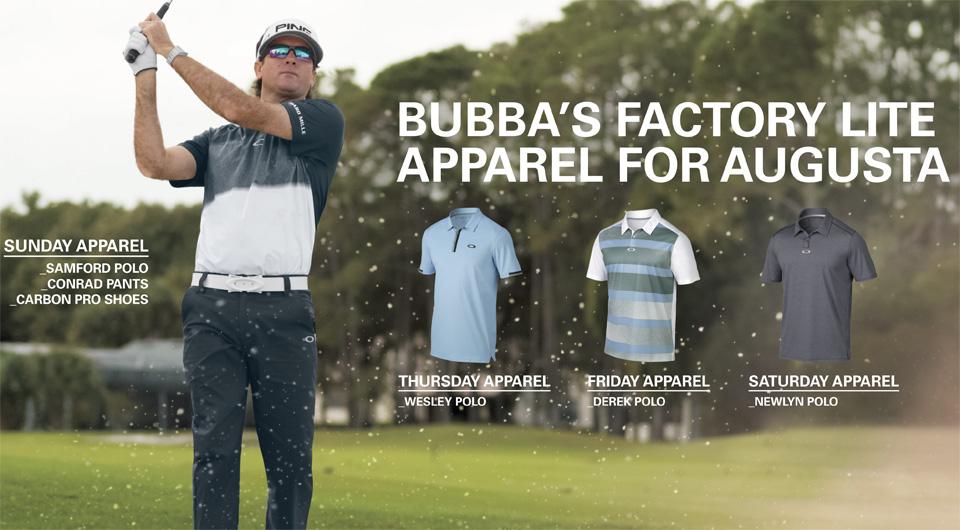 5d7fa4346b Oakley Golf Shirts Bubba Watson