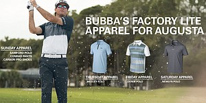 Bubba Watson's Masters 2015 apparel from Oakley