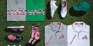 Adidas Golf introduces Azalea Collection for Masters