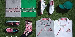 Adidas Golf introduces Azalea Collection for Masters