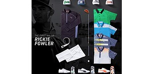 Rickie Fowler's Masters 2015 apparel from Puma Golf