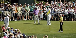 VIDEO: Jack Nicklaus makes ace at Masters Par 3 Contest