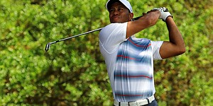 PHOTOS: Tiger Woods at 2015 Masters, Thursday