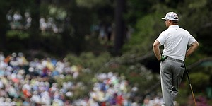Augusta National's control apparent on CBS Masters telecast