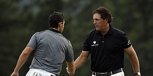 McIlroy and Mickelson light up back nine at the Masters