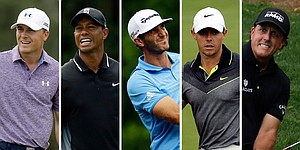 Recap: Tiger, Phil, Rory make charge, but Spieth still leads Masters