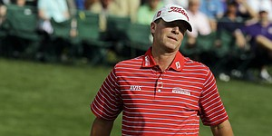 Stricker eases back at Masters after back injury