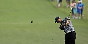PHOTOS: Tiger Woods at 2015 Masters, Saturday