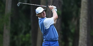 Ernie Els helps turn RBC Heritage blue for autism awareness