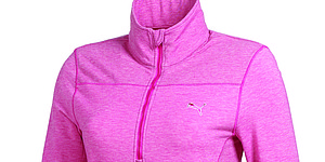 Puma Golf's half-zip top just in time for Mother's Day