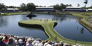 Nos. 17, 18 at TPC Sawgrass leave marks on Players field