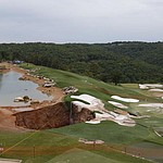 Sinkholes open at Top of the Rock Golf Course