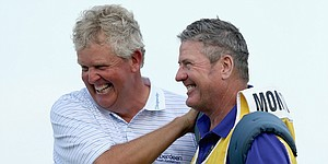 Colin Montgomerie successfully defends Senior PGA title