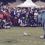 Despite not hitting balloons, Spieth a big hit at Byron Nelson junior clinic