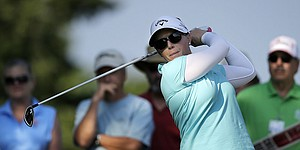 Morgan Pressel opens with 66 for ShopRite LPGA Classic lead