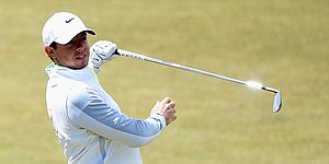 Rory McIlroy misses cut as six share Irish Open lead